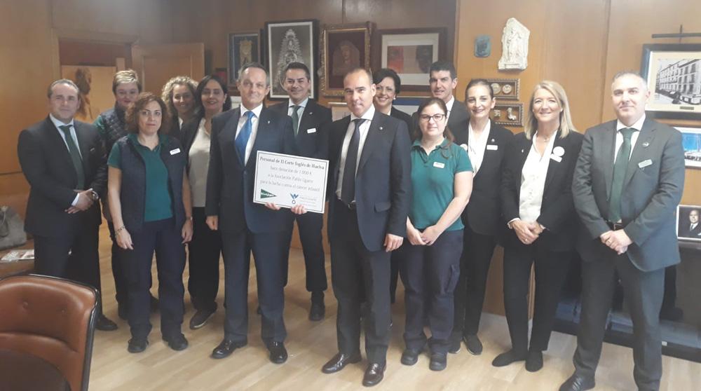 Donación empleados C.I. Huelva