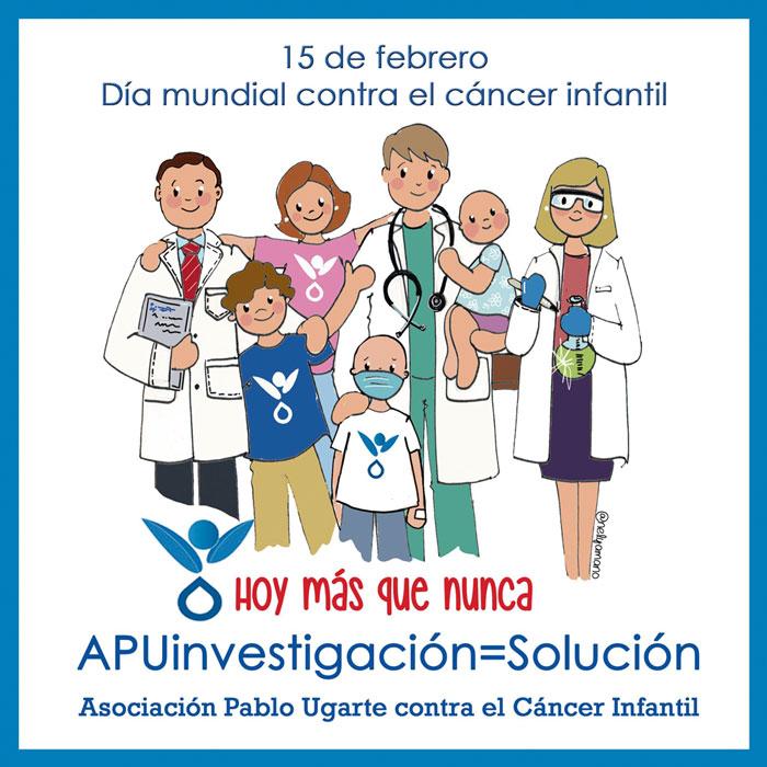 Día Mundial del CÁNCER INFANTIL. 15 de febrero de 2021,