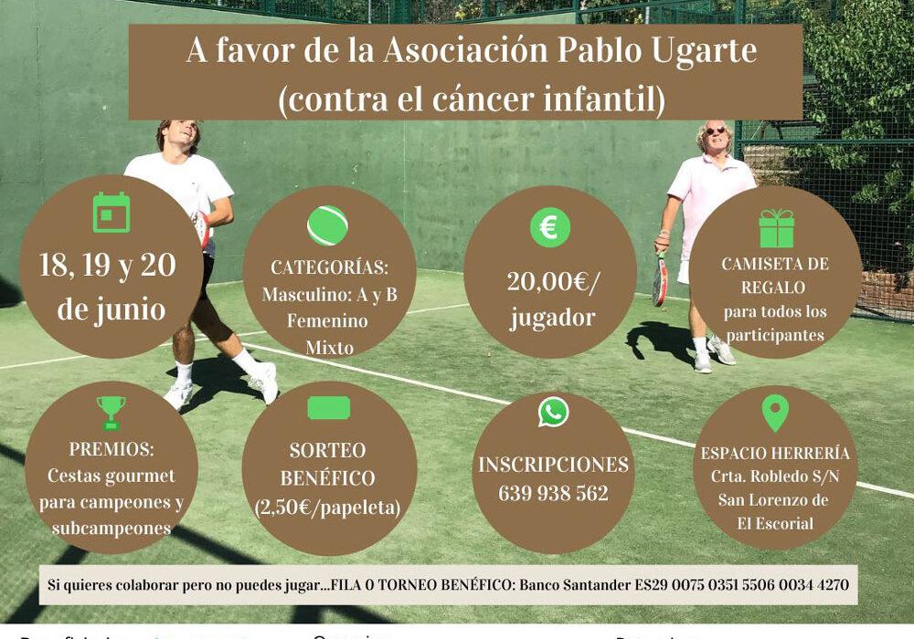 """Torneo de Pádel Club """"ESPACIO HERRERÍA"""" San Lorenzo de El Escorial. 18/20 junio 2021"""